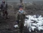 Missouri spring snow goose hunting