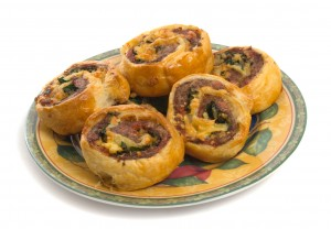 Snow Goose Pinwheel Appetizer Recipe